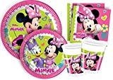 'Ciao y4384 Kit Party Tabla Minnie'Happy Helpers para 8 personas, multicolor