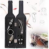 YKWYQ Abrebotellas 5pcs / Set Botella Regalo Creativo del sacacorchos del Vino del Vino Forma de la Botella abridor de Utensilios de Cocina Regalo de Boda