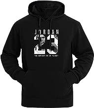 Mancave Men Kangaroo Pocket Slim Jordan 23 Printed Full Sleeve Sporty Hoodie