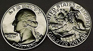 1976 S Proof Washington SILVER Quarter Bicentennial 1776-1976 Drummerboy design Quarter PF-68 US Mint