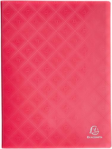 Exacompta - Ref. 86300E - Protège-Documents en Polypropylène Semi-Rigide 1928 200 Vues / 100 Pochettes- A4 - Couleur Aléatoire