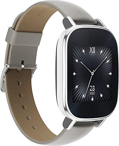 Asus - ZenWatch 2 WI502Q Smartwatch Silver