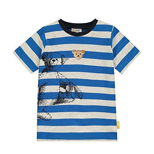 Steiff Shirt, Bleu (Skydiver 6040), 3 Ans Bébé garçon