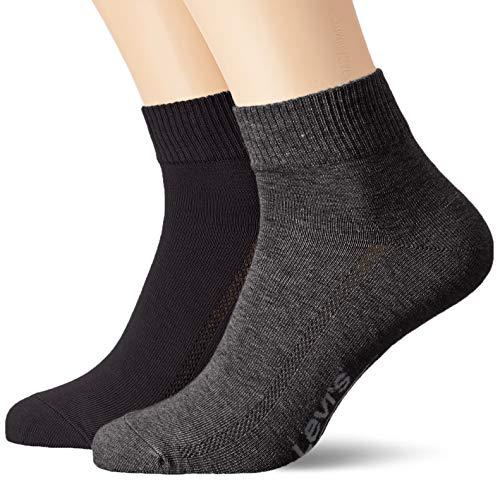 Levi's LEVIS 168SF MID CUT 2P Socken, Herren, Mehrfarbig 39/42 EU (Herstellergröße: 039)