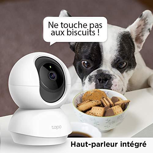 Caméra de surveillance wifi TP-LINK TAPO 360 ° 2