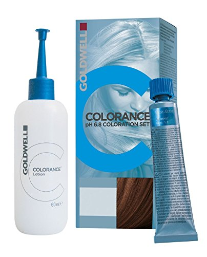 Goldwell Colorance pH 6,8 Colorations Set 5RB, rotbuche dunkel, 1er Pack, (1x 90 ml)