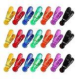 JVSISM 21PZ Clip Magnetiche Multiuso 7 Colori Clip...