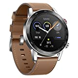 Honor MagicWatch 2 Smart Watch, 1.39' AMOLED 5ATM Waterproof 14 Days Standby Smart Bracelet with GPS Bluetooth 46mm Fitness Tracker Activity Tracker (Brown, 46mm)