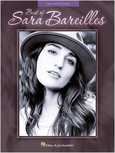 Hal Leonard Best Of Sara Bareilles for Big Note Piano