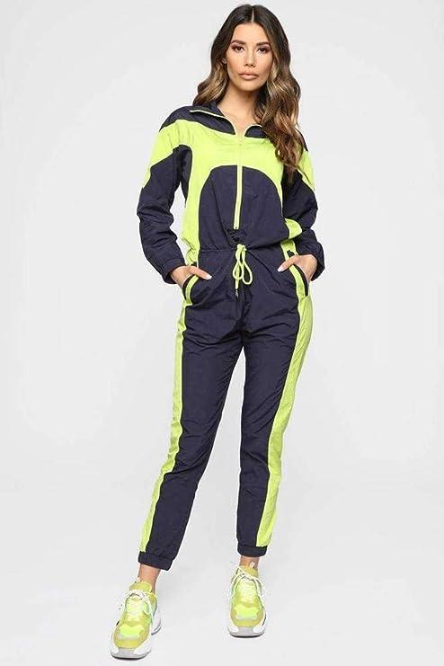 2019 Conjunto De Mono Casual Deportivo Con Capucha De Moda Para Mujer Good Dress Color De Foto Sg Amazon Es Bricolaje Y Herramientas