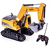 Excavator Toy Remote Control RC Construction Vehicles Car Toys for 4 5 6 7 8...