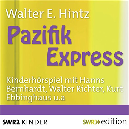 Pazifik-Express audiobook cover art