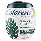 Coloreria ItalianaColorante per Tessuti,Verde Foresta, 350g