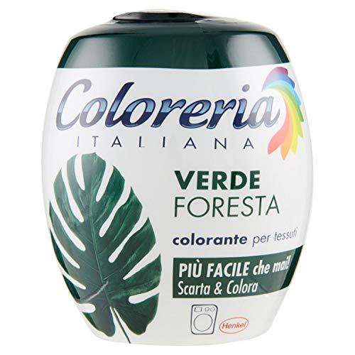 Coloreria Italiana Verde Foresta Colorante Per Tessuti 350G