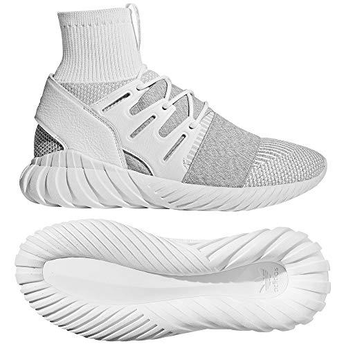 adidas Herren Tubular Doom Pk Fitnessschuhe, Weiß Grau, 49 1/3 EU