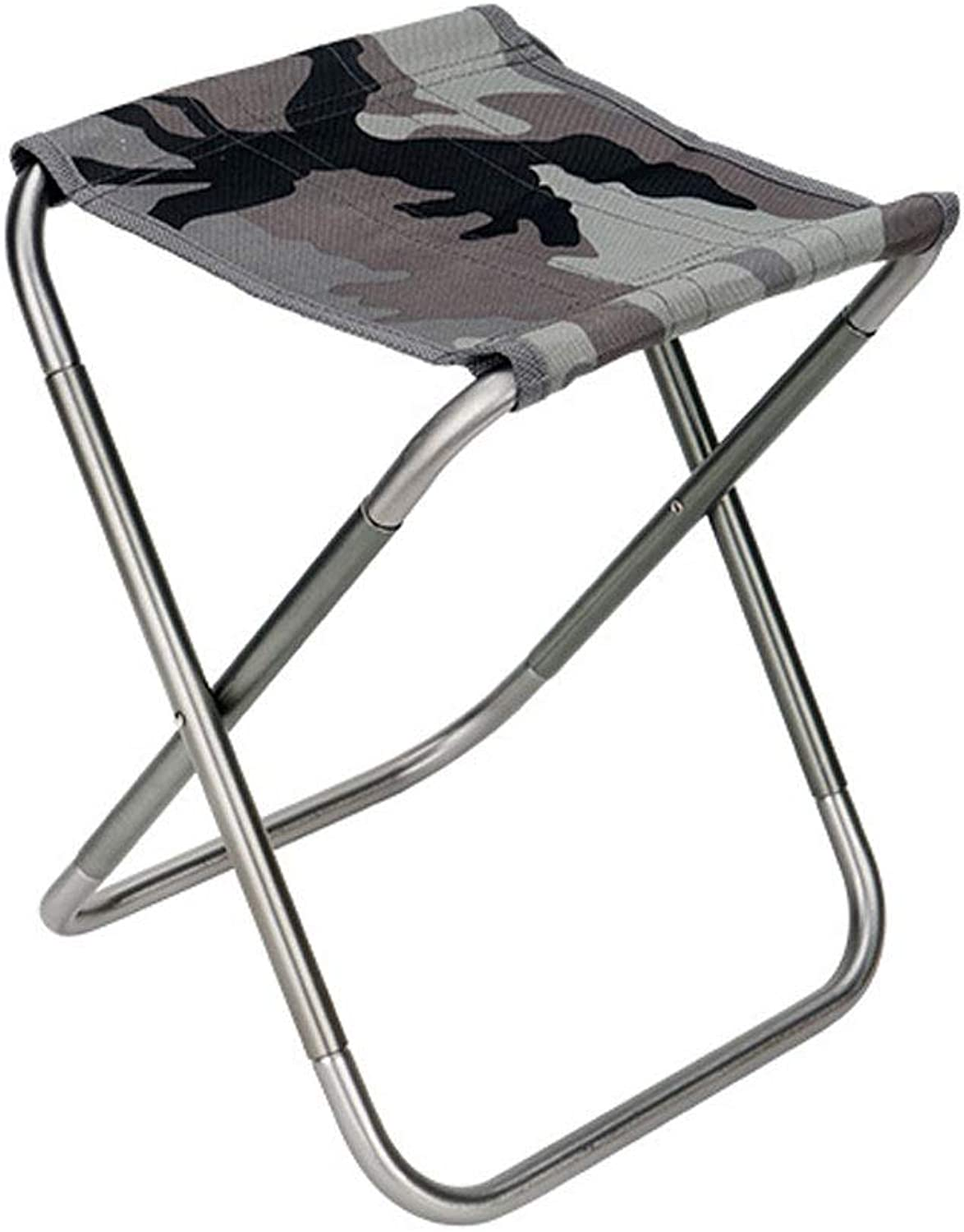 DEI QI Folding Chair Ultra Light Portable Outdoor Fishing Camping Mountaineering Sketch Folding Stool for shoes Low Stool
