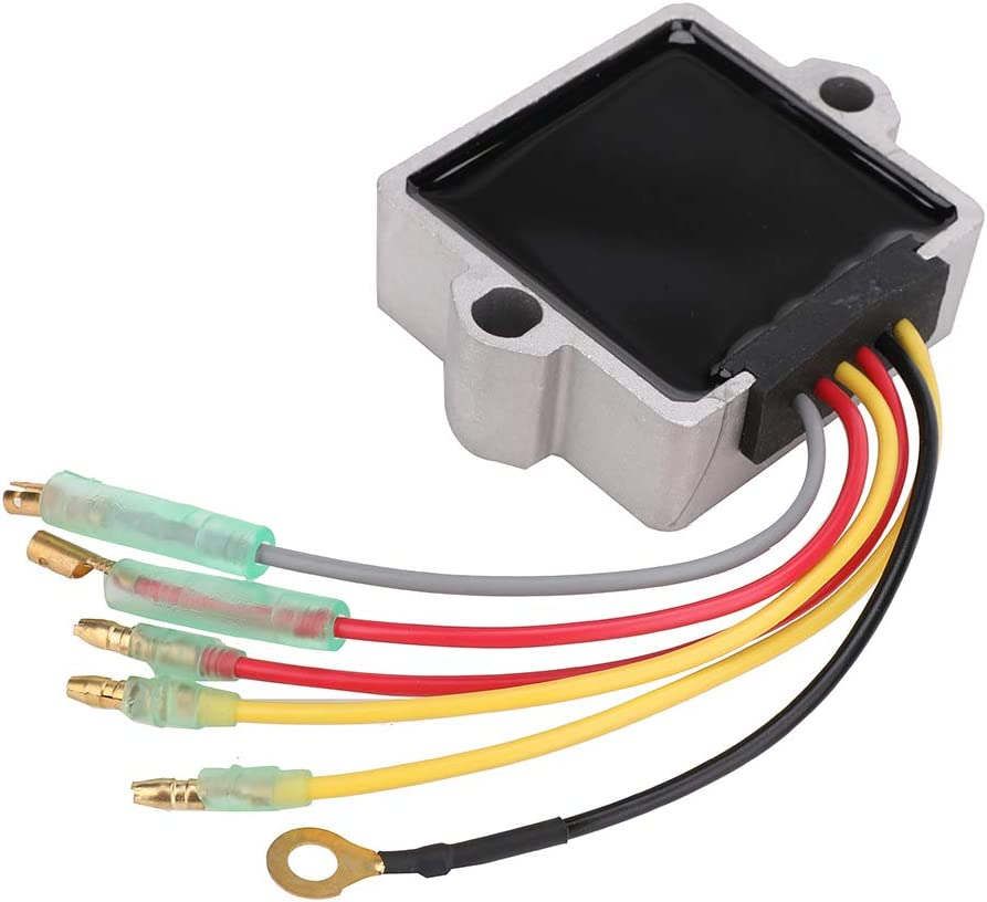 883072T Voltage Regulator Rectifier 6 Wire 12 Volt for Mercury Mariner Outboard 815279T, 854515, 830179T, 856748, 883072, 8M0084173, 815279-3, 815279-2 75-200HP