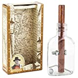 Professor Puzzle Churchill's Cigar and Whisky Bottle Puzzle 3D Wooden Puzzles/Brain Teaser Toy.