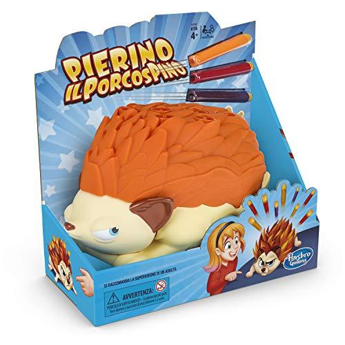 Hasbro Gaming Pierino il Porcospino Gioco in Scatola con Dardi, Multicolore, E5702