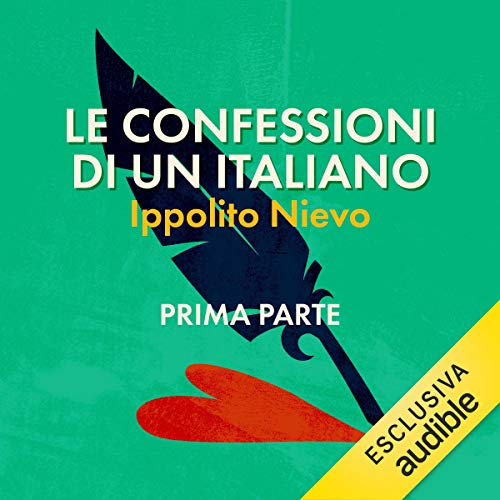 Le confessioni di un italiano 1 audiobook cover art