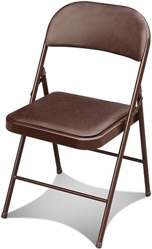 saludable Folding Chair Home Silla Plegable Silla de Oficina Silla Plegable Plegable Plegable Silla Plegable (Color  2)  precio razonable