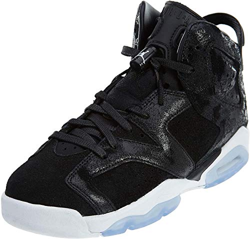 Nike - Air Jordan Vi Retro PRM Heriress - 881430029 - El Color: Negros - Talla: 36.0