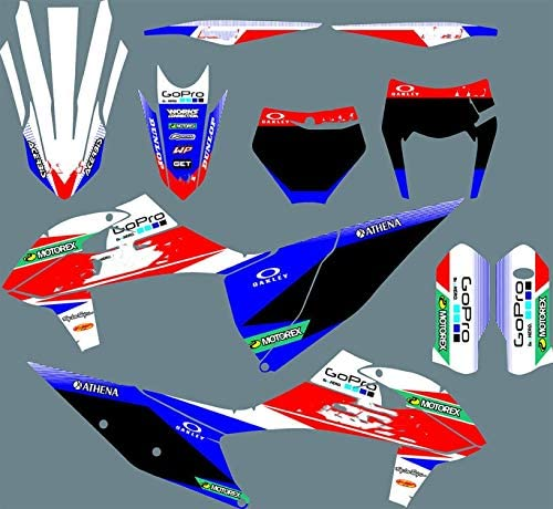 Motocross Full Set of Graphics Stickers Fashion EXC Kits Popular brand in the world Decals for KTM