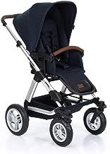 ABC Design Kombi-Kinderwagen Viper 4-2in1 Set aus Babywanne und Sportwagen | mit großen Lufträdern und Teleskop-Schieber - Shadow