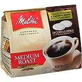 Melitta Single Cup Coffee Pods for Senseo & Hamilton Beach Brewers, Medium Roast Coffee, 18 Count