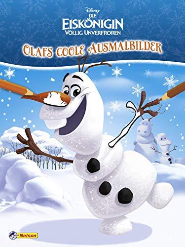 Disney Die Eiskönigin: Olafs coole Ausmalbilder (Disney Eiskönigin)