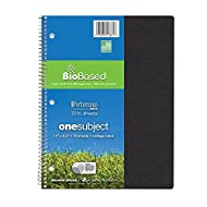 Roaring Spring Environotes College Ruled 1 Subject Recycled Spiral Notebook