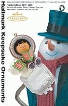 Hallmark Keepsake Ornament Value Guide: Tracker Edition 1973-2005 (Tracker Guides)