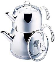 Korkmaz Provita Maxi Capsulated Turkish Tea Pot Set with Erg