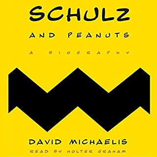 Schulz and Peanuts audiobook cover art
