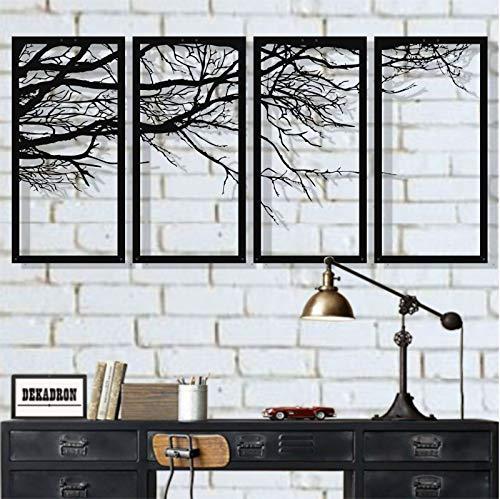 Metal Tree Wall Art, Tree Sign, Metal Wall Decor, Interior Decoration,