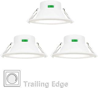 7 W empotrable foco de techo para ba/ño m/ódulo LED 230 V 500 lm blanco neutro orientable Foco LED empotrable ultraplano foco empotrable