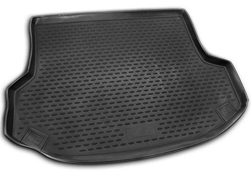 AD Tuning TMP17003 Passform Kofferraumwanne, Anti-Rutsch Oberfläche, schwarz