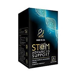 cheap ACTIF Stem Cell Support – Maximum Intensity with Over 10 Stem Cell Factors, GMO Free, 2 Months Supply,…