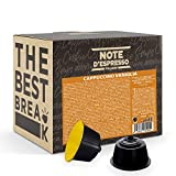 Note d'Espresso Italiano - Cápsulas Nescafé e Dolce Gusto, compatibles con cafeteras Nescafé e Dolce Gusto de Capuchino con Vainilla, 48 x 9 g, Total 432 g