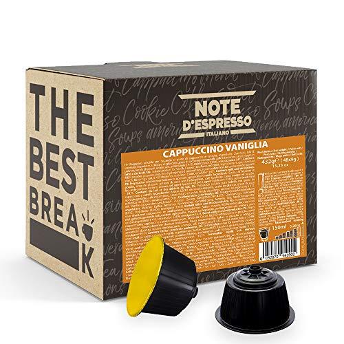 Note D'Espresso Cápsulas Nescafé e Dolce Gusto, compatibles con cafeteras Nescafé e Dolce Gusto de Capuchino con Vainilla, 48 x 9 g, Total 432 g