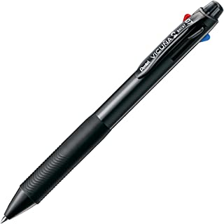 ぺんてる 4色ボールペン ビクーニャ0.7mm BXC47A ブラック