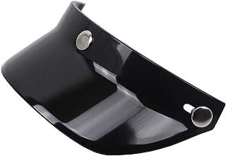 Viseira GoolRC Universal com 3 botões de pressão para capacete de motocicleta aberto