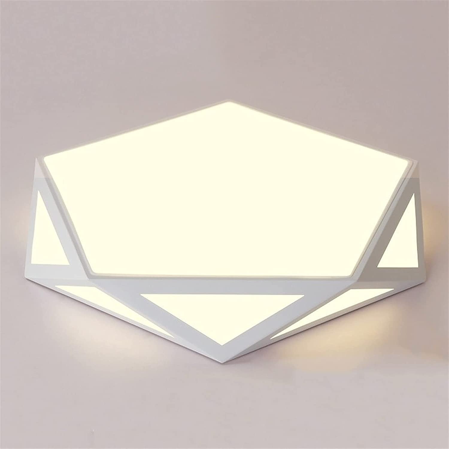PDDUU LED Ceiling Lamp Modern Lamps Kitchen Geometric for High quality New Orleans Mall Hollow