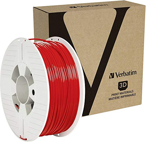Verbatim 3D PRINTER FILAMENT PET-G 2.85MM 1KG RED