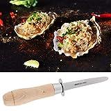 Cuchillo de vieira Cuchillo de ostra de acero inoxidable de alta dureza segura para restaurante para ostras