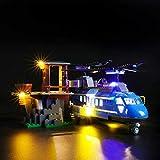 Set di Luci per (City Arresto in Montagna) Modello da Costruire - Kit Luce LED Compatibile con Lego 60173 -Non Incluso nel Modello