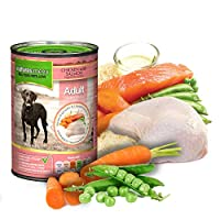 Complete & nutritionally balanced, wholesome food for adult dogs Contains no meat meals or meat derivatives; Gently cooked to retain nutrients Free from artificial colours, flavours and preservatives Human grade meat; Made with real meat; Vet Approve...