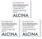3er T Cenia Gesichtscreme pflegende Kosmetik Alcina gleicht Feuchtigkeitsmangel sofort aus je 50 ml = 150 ml