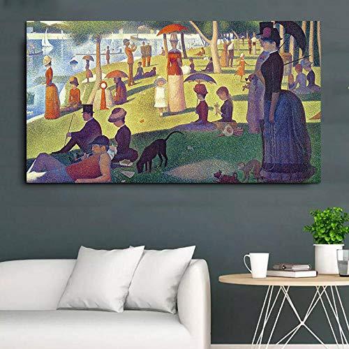 NoBrand Poster en stempel Anime Film Abstract figuur schilderij canvas decoratie modern 30 x 50 cm zonder lijst