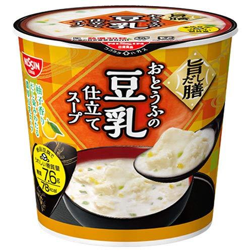 日清食品 とろけるおぼろ豆腐 おとうふの旨だし豆乳スープ 17g×12(6×2)個入×(2ケース)